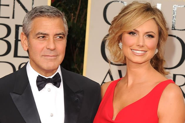 George Clooney und Stacy Keibler bei den Golden Globes
