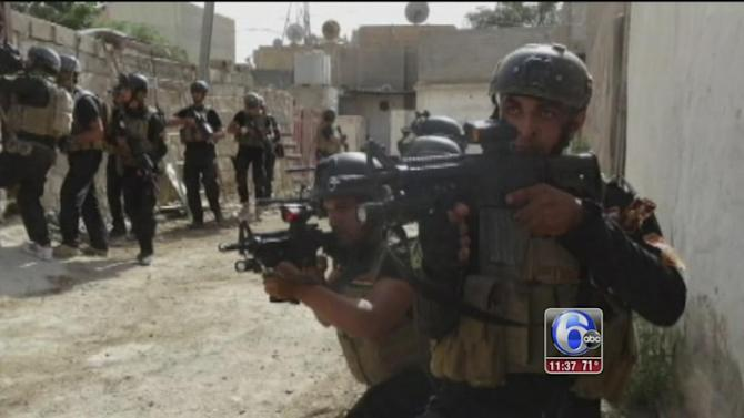 Militants blitz through Iraq's western desert