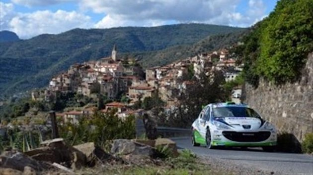 Giandomenico Basso at Rallye Sanremo (From official ERC website)