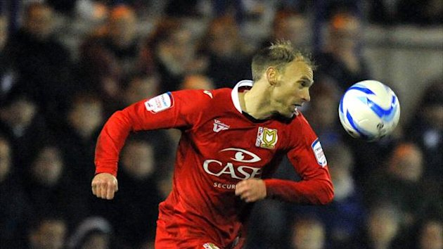 Luke Chadwick has scored 20 goals for MK Dons, becoming a firm favourite at stadium:mk