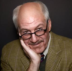 """This image released by Keith Sherman & Associates shows playwright and actor Tom Dugan as famed Nazi hunter Simon Wiesenthal in """"Wiesenthal,"""" a play to be presented from Oct. 24- Feb. 1, at the Acorn Theatre at Theatre Row in New York. Wiesenthal was a Holocaust survivor who spent more than 50 years hunting Nazi war criminals, speaking out against neo-Nazism and racism, and remembering the Jewish experience as a lesson for humanity. He estimated he helped bring some 1,100 Nazi war criminals to justice. (AP Photo/Keith Sherman & Associates, Martin Gottlieb)"""