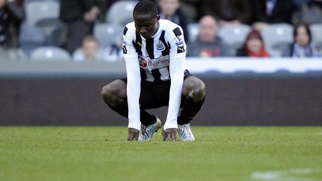Newcastle United's Mapou Yanga-Mbiwa