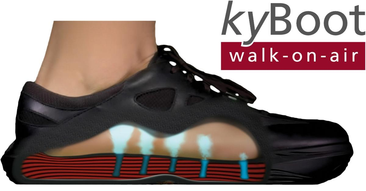 Walk on Air with the Swiss Air Cushion Shoe