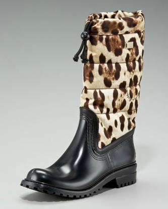 Dolce & Gabbana, $695. Inexpensive in comparison to the rest, but almost $700 for rain boots? Criminal.