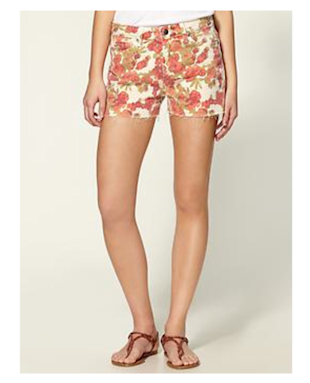 Florals are in bloom! (Paige Denim Lola Short, $148)