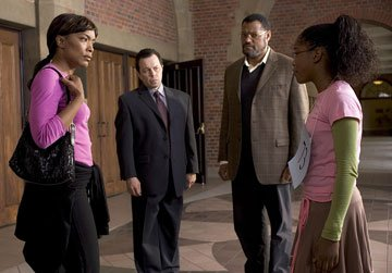 Angela Bassett , Curtis Armstrong , Laurence Fishburne and Keke Palmer in Lionsgate Films' Akeelah and the Bee