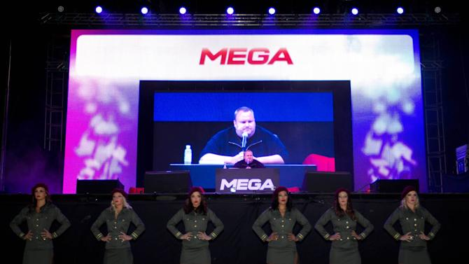 Kim Dotcom's Mega site struggles under mega demand