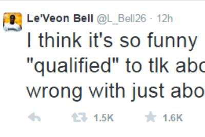 Le'Veon Bell calls out Mel Kiper with fiery Twitter rant