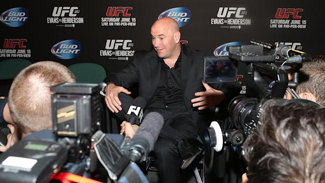 MMA: UFC 161-Press Conference