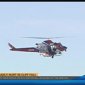 La Jolla cliff rescue 5:00 p.m.