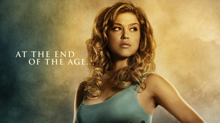 Adrianne Palicki Legion Poster Production Stills Screen Gems 2010