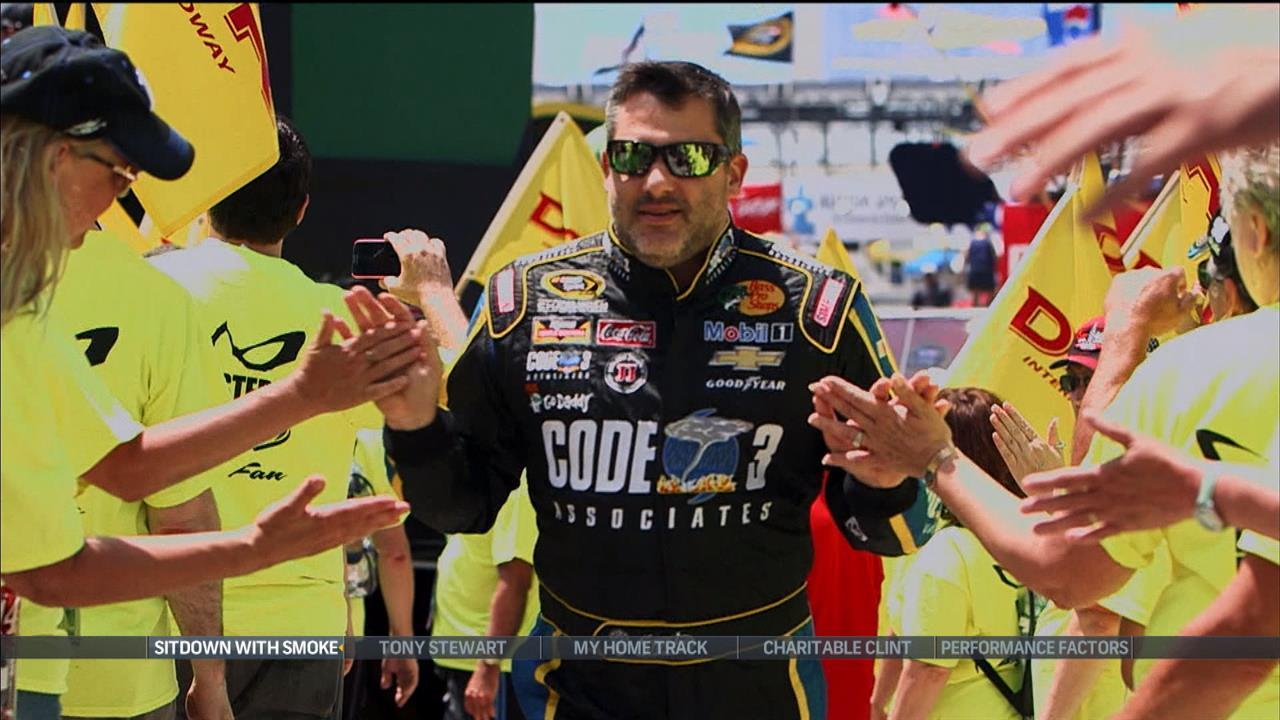 Tony Stewart has not lost his passion for racing