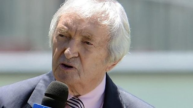 Legendary Australian cricketer and commentator Richie Benaud (AFP)