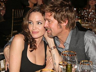 1. Brad Pitt and Angelina Jolie