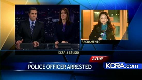Sac Police officer arrested for sexual assault
