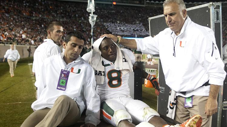'Canes have to regroup with Johnson out for season