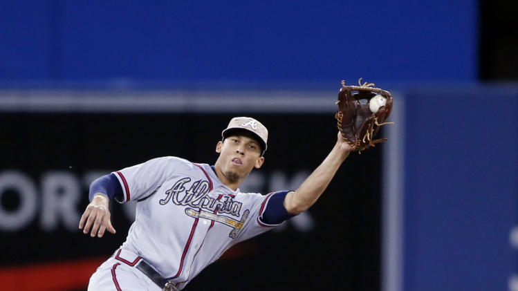 MLB: Atlanta Braves at Toronto Blue Jays