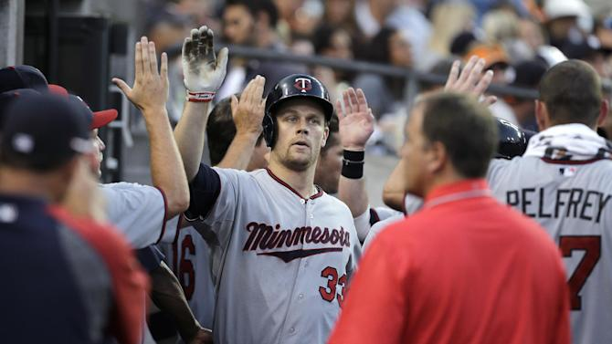 Morneau's 4 hits help Twins beat Tigers 6-3