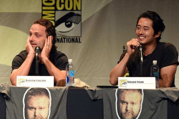 'Walking Dead' Star Andrew Lincoln Reveals What Steven Yeun Told Him About Glenn's Fate