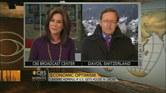 Economic optimism at Davo …