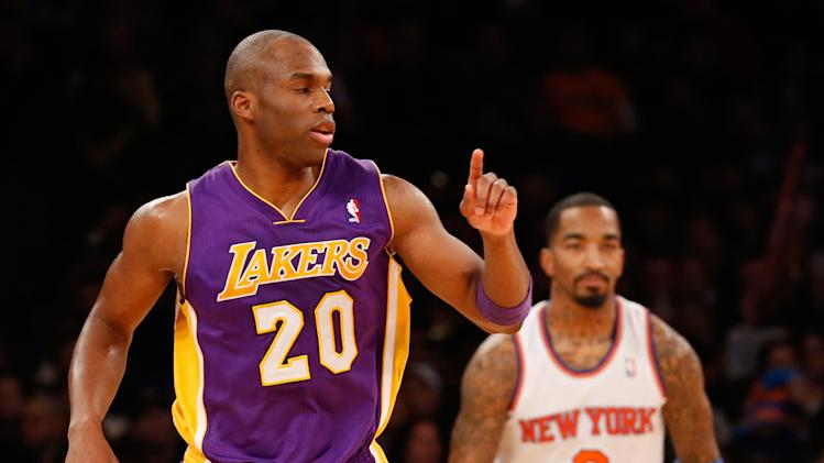 NBA: Los Angeles Lakers at New York Knicks