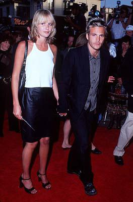Stephen Dorff and gal at the Westwood premiere of Twister