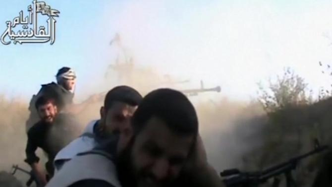 Gunfire and loss in Syria