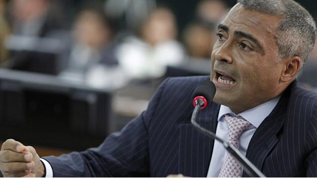 South American Football - Brazil's Romario calls for investigation into football chief