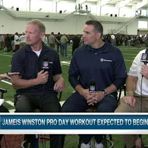 Florida State University head coach Jimbo Fisher defends quarterback Jameis Winston's character and off-field issues
