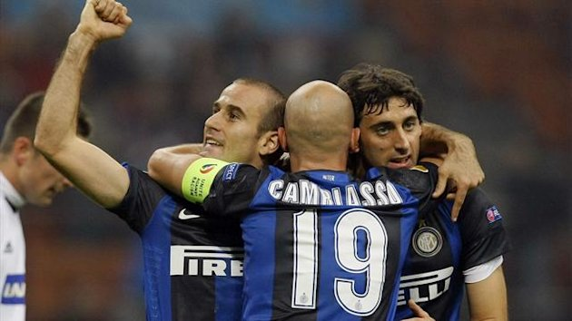 Rodrigo Palacio celebrates (Reuters)