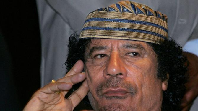 Moamer Kadhafi ruled Libya from 1969 to 2011