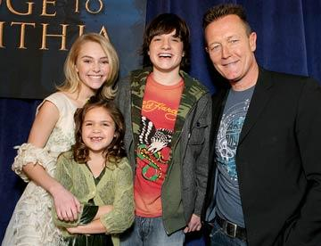 AnnaSophia Robb , Bailee Madison , Josh Hutcherson and Robert Patrick at the Hollywood premiere of Walt Disney  Pictures' Bridge to Terabithia