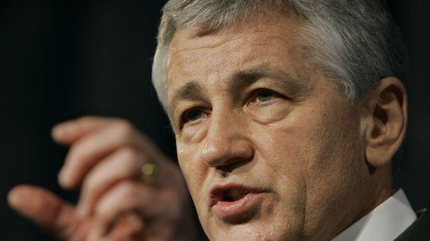 Chuck Hagel's Evolution on Gay Rights Is Tearing the Log Cabin Republicans Apart