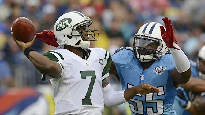 Jets' Ryan says benching Smith 'not a thought'