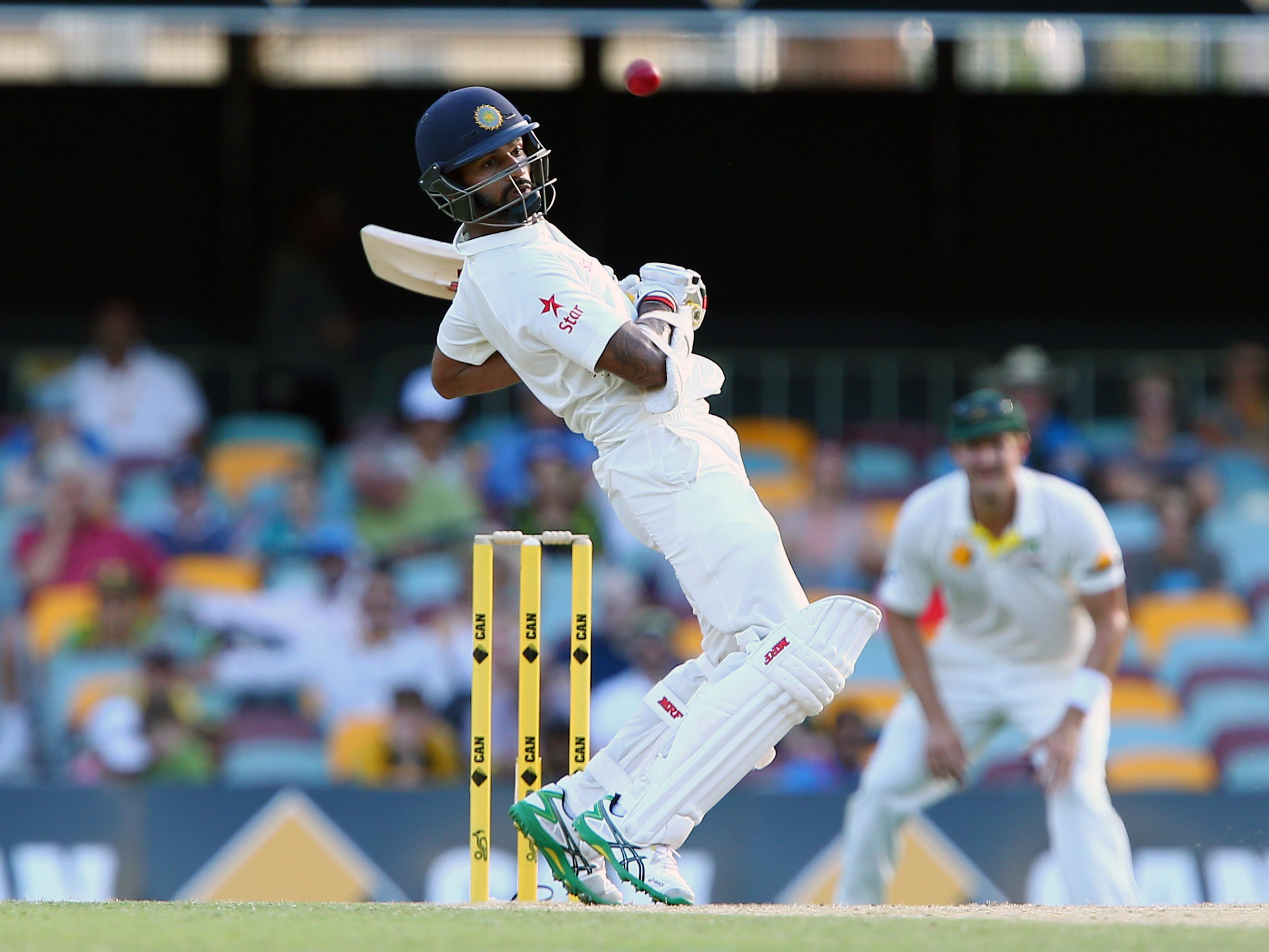 Dhawan hurt in practice ahead of day 4, 2nd test