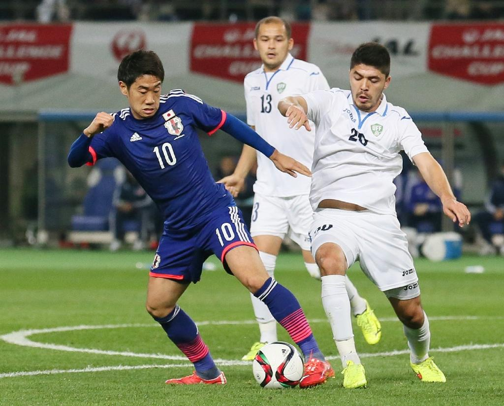 Japan's baby-faced assassins rout Uzbekistan