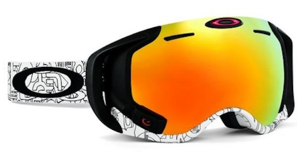 Oakley's Heads-Up Airwave Goggles Will Make You a Robo-Skier