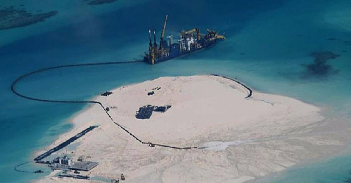 Why China is Pumping Sand into the South China Sea