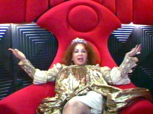 We're sure everyone was surprised when Jackie Stallone arrived in the CBB house in the third series - especially her son Sly's ex girlfriend Brigitte Nielson. Jackie obviously didn't enjoy her time in
