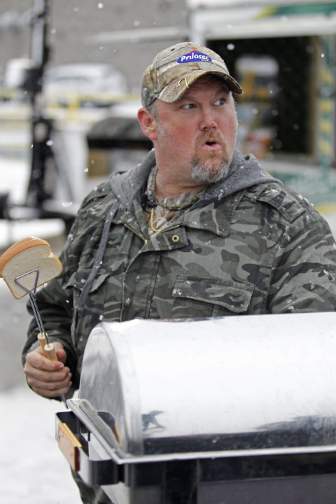 Frequent heartburn sufferer and comedian Larry the Cable Guy  tailgates with fans in Green Bay to promote new Prilosec OTC Wildberry and encourage fans to enter the Wild American Flavor Sweepstakes at