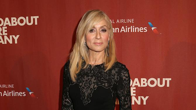 Judith Light attends the Roundabout Theatre Company's 2015 Spring Gala at the Waldorf-Astoria Hotel on Monday, March 2, 2015, in New York. (Photo by Greg Allen/Invision/AP)