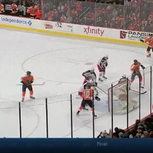Wayne Simmonds Goal on Sergei Bobrovsky (15:17/2nd)