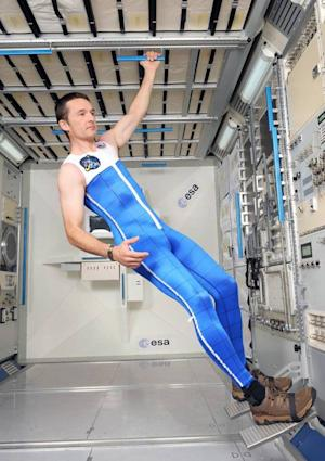 Astronaut 'Skinsuit' Could Soothe Zero-G Backaches in Space