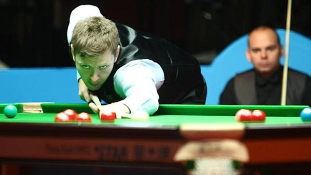 Ricky Walden on his way to winning the Wuxi Classic