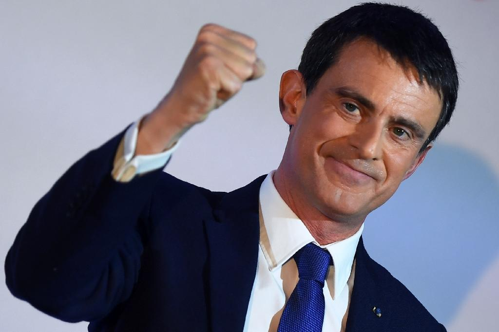 Gloves are off for Valls, France's political fighter