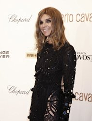Fashion editor and stylist Carine Roitfeld