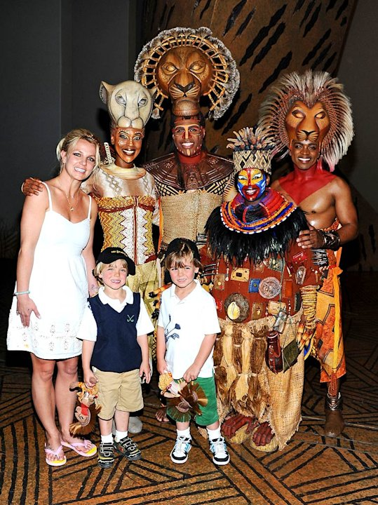 Britney Spears The Lion Kind Brdwy