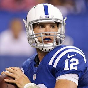 Luck improvises; leads TD drive