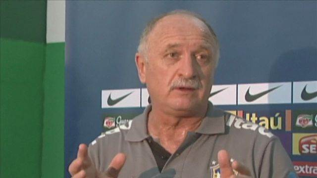 Scolari speaks after friendly match to honour the death of teenage fan