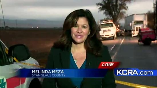 Accident on Highway 132 kills one and injures a Cal-trans worker